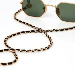 Sunglasses  /glasses chain, CC inspired  chain